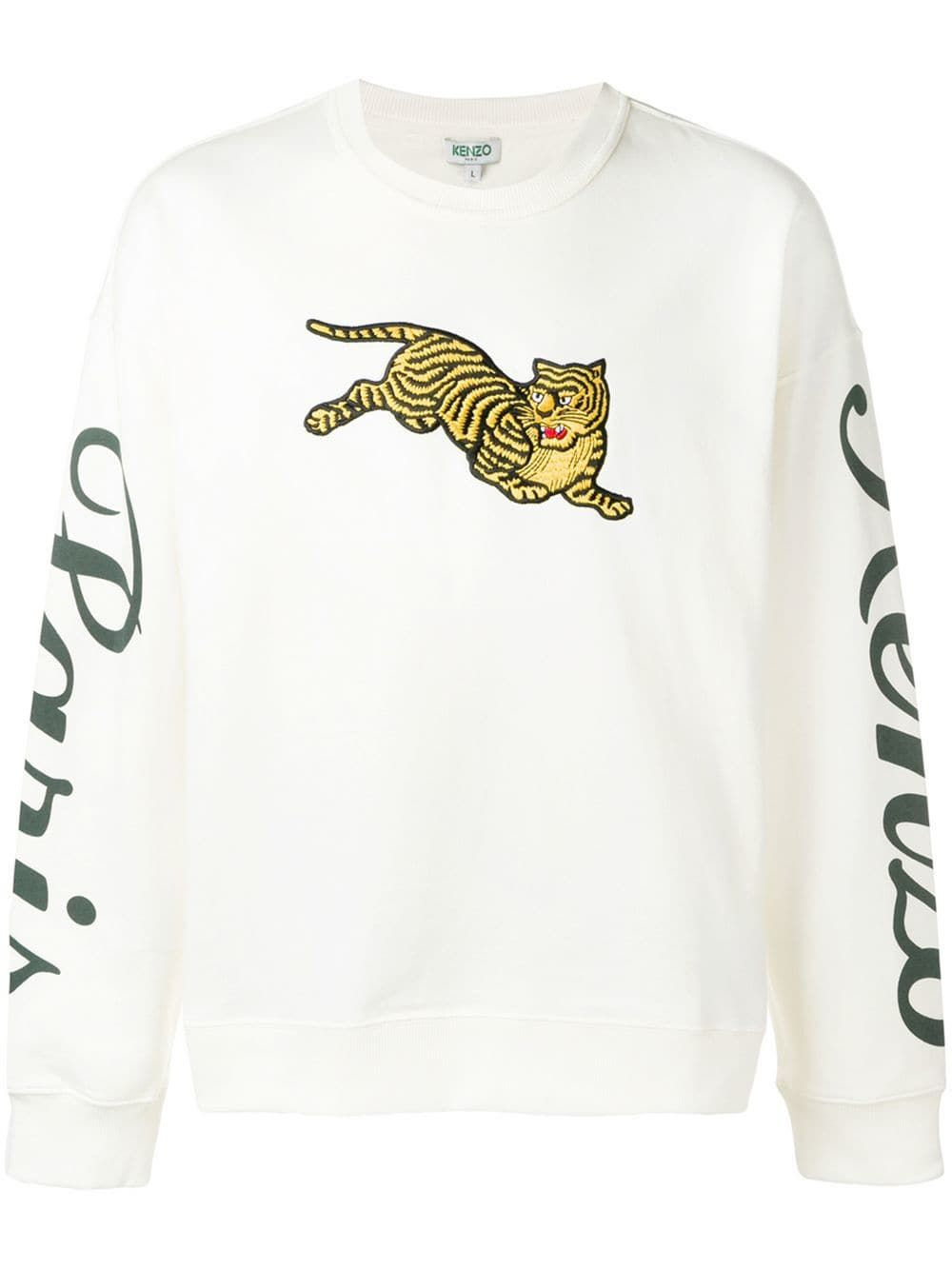 f74ec267 Kenzo embroidered Tiger sweatshirt - White in 2019   Products ...