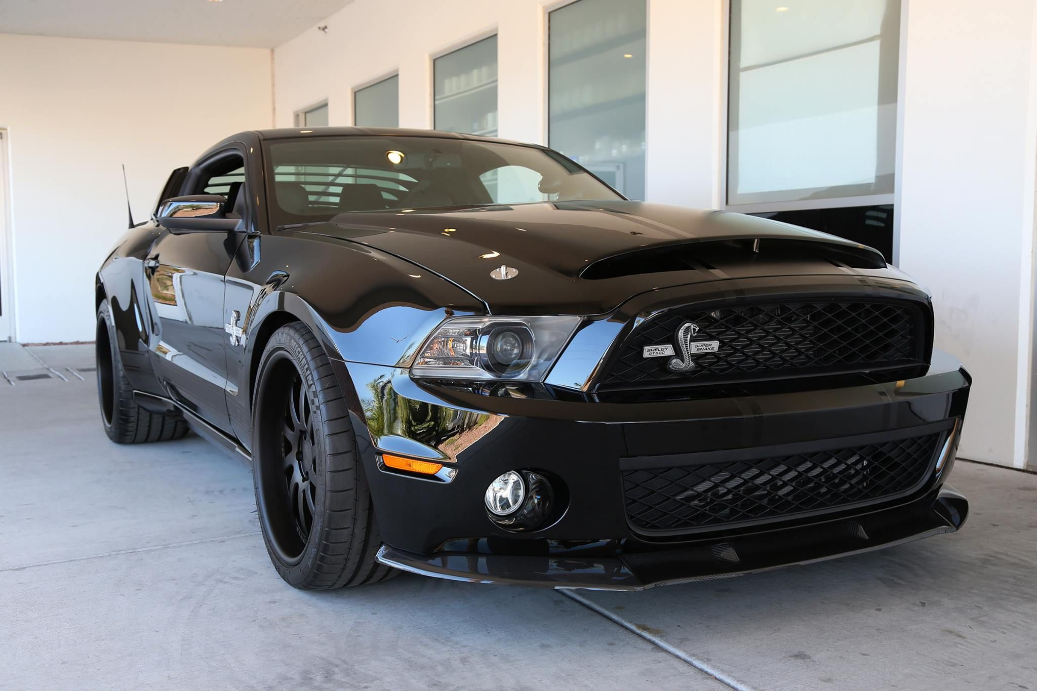 2011 Shelby GT500 Super Snake with the full wide-body package...