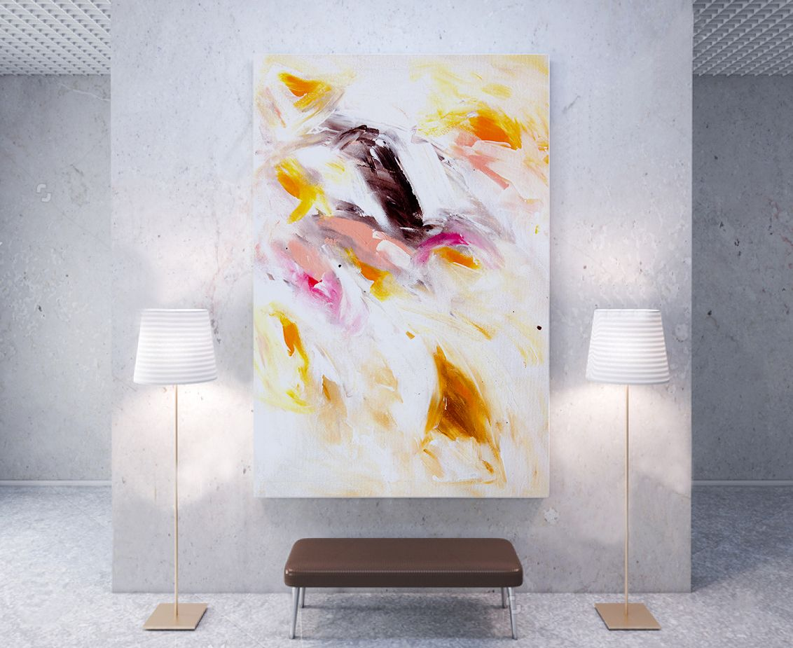 Living room abstract art painting wall decor ideas also rh pinterest