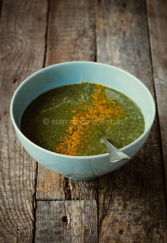 Mosterdblad soep uit Groenten in de hoofdrol