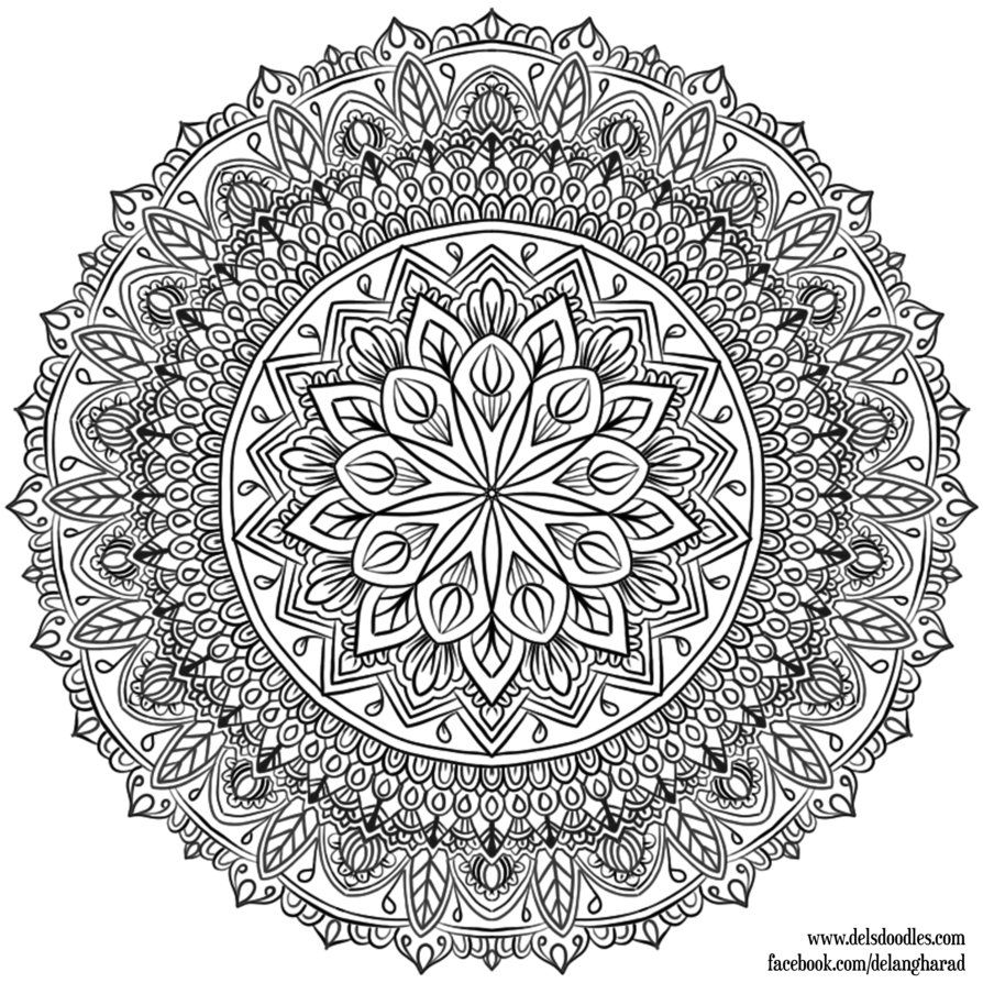 Mandala Para Colorear Krita 33 By WelshPixie On DeviantArt