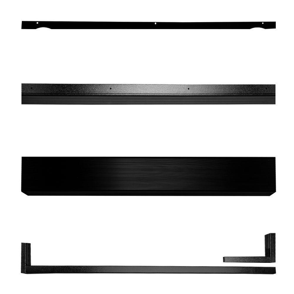 Unique Home Designs Black Security Door Seal Kit-5SH910BLACK36 - The ...