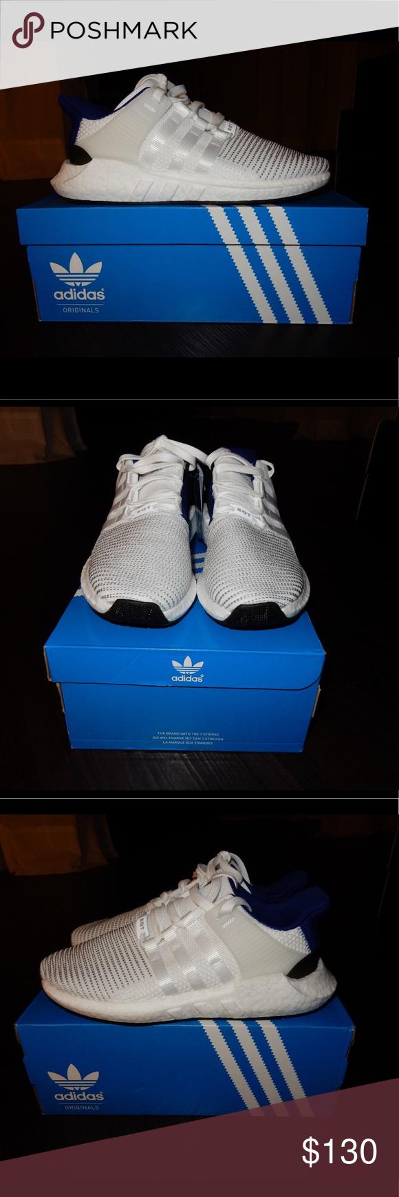 Adidas EQT Support 93 / 17 nueva marca Royal AZUL & blanco hombre :