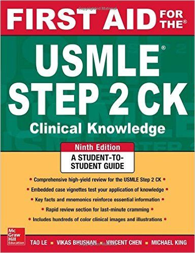 first aid for the usmle step 2 ck 9th edition pdf download step