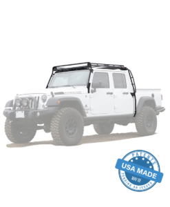 Jeep Aev Brute Stealth Rack Lightbar Setup In 2020 With Images