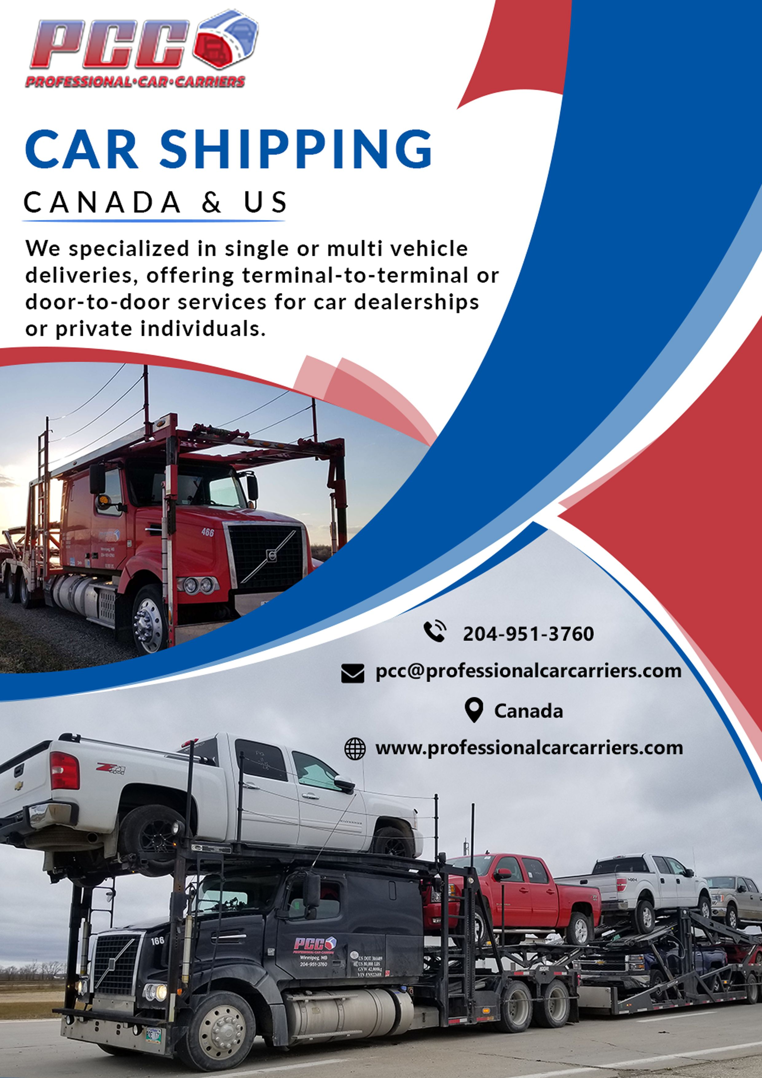 Vehicle shipping cost canada