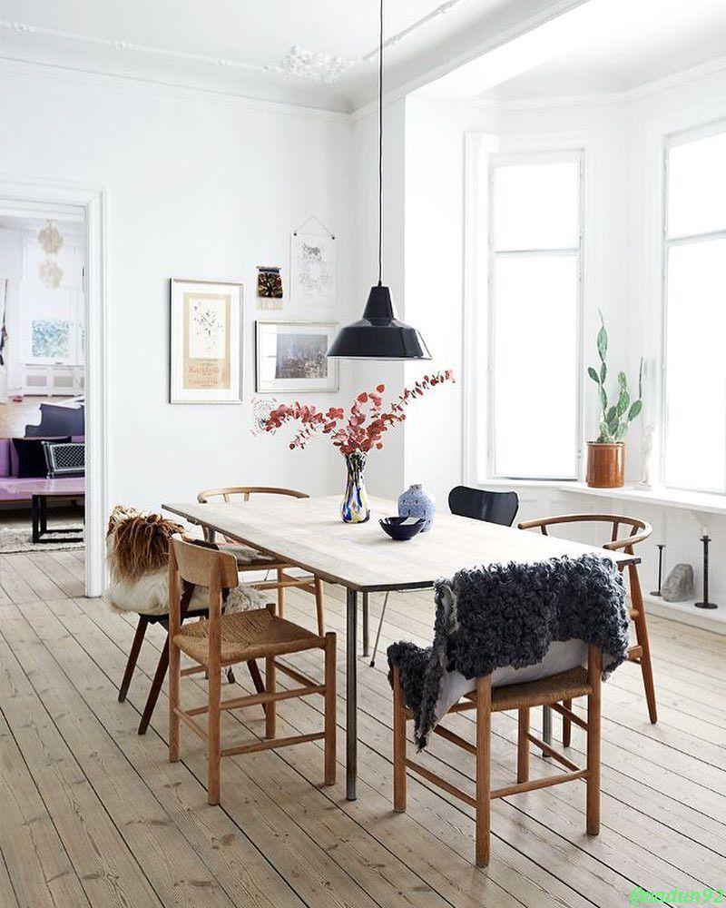 Desain Ala Eropa Desain Rumah Elegan Simple Scandinavian Dining Room Scandinavian Home Interiors Minimalist Dining Room Charming scandinavian dining room