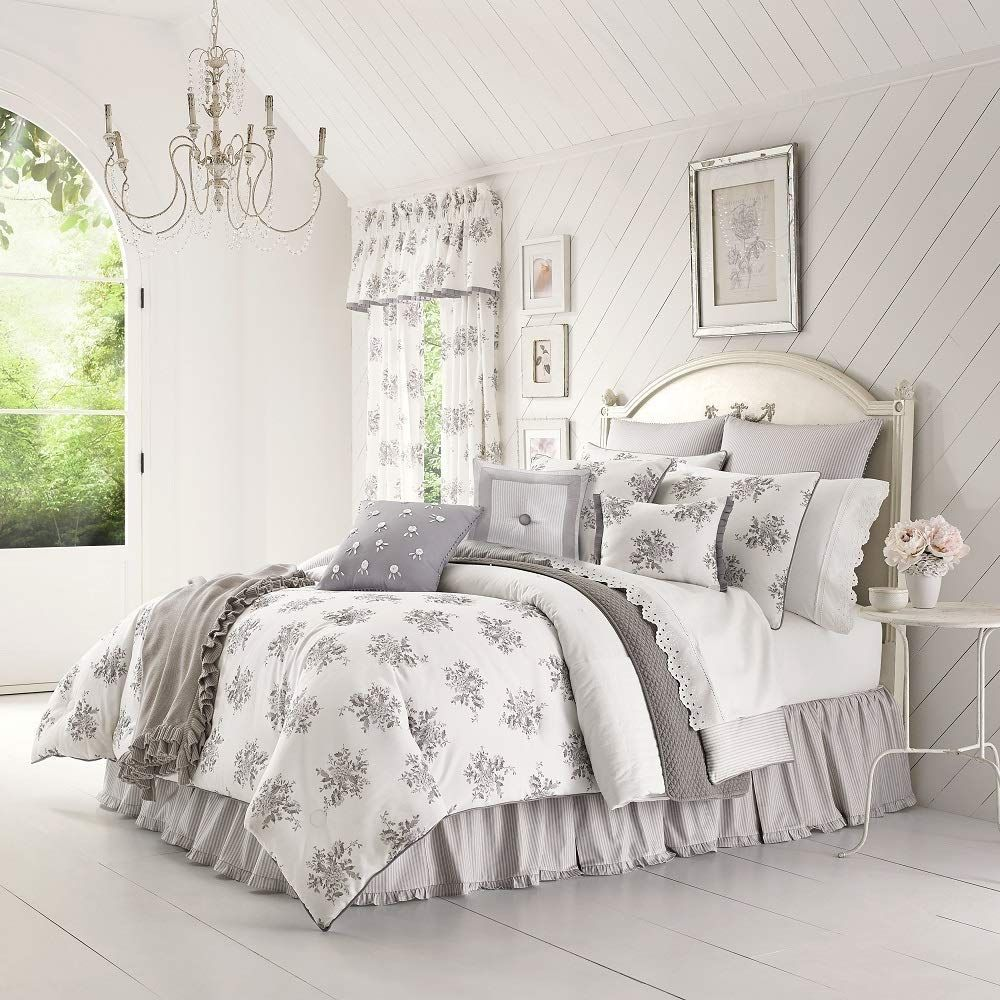 Farmhouse Comforters Rustic Comforters Farmhouse Goals In 2020 Rustic Comforter Grey Comforter Sets Shabby Chic Bedding Sets