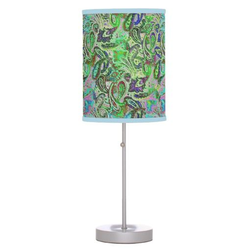 Plain Paisley 1 Desk Lamp:  View Basic Design's Complete Collection of Paisley Products Here:  http://www.zazzle.com/basicdesign/gifts?cg=196142410906704248&rf=238368915417973707