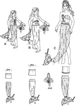 Suche Schnittmuster für Meerjungfrau Gr. 158 - Seite 2 ...