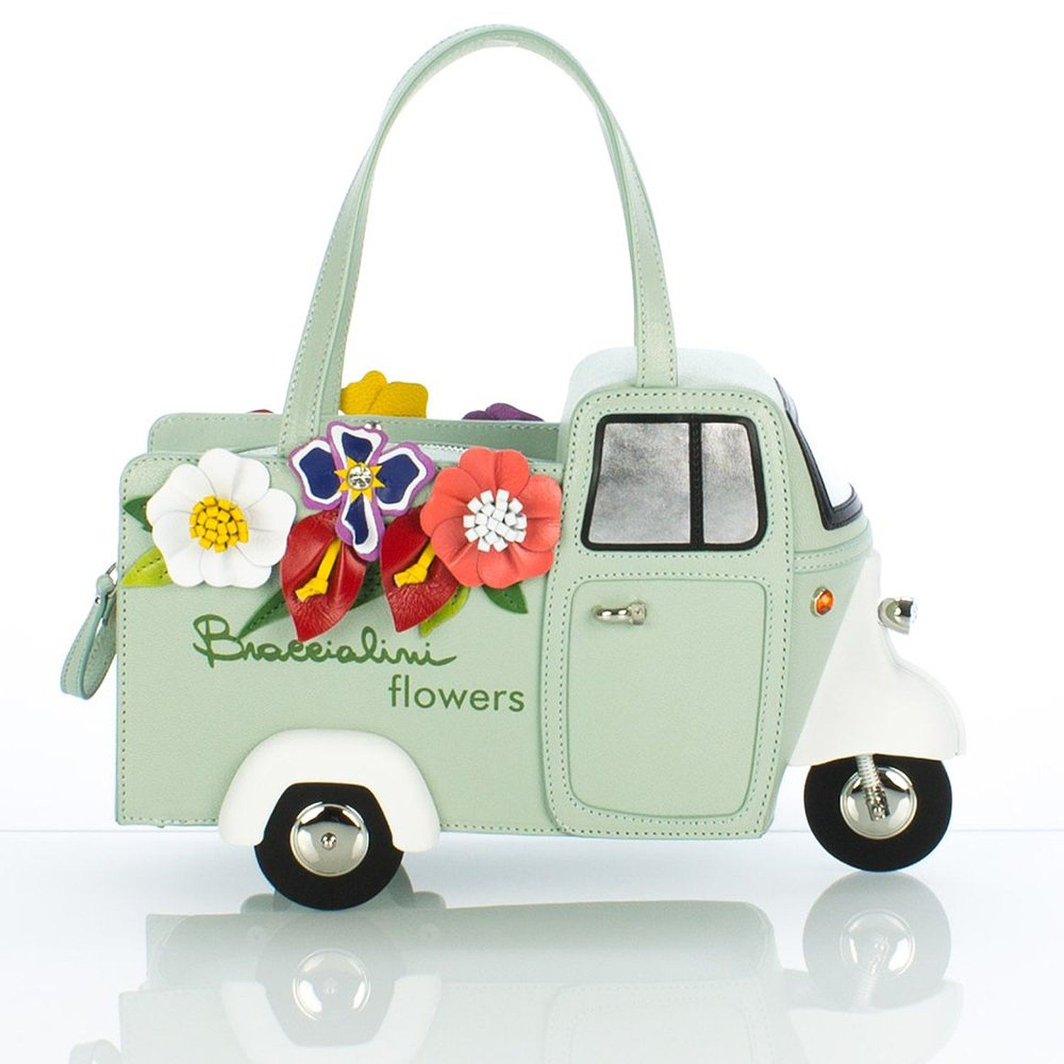 BRACCIALINI MADE IN ITALY BORSA TEMA FLOWERS EXPRESS B8592