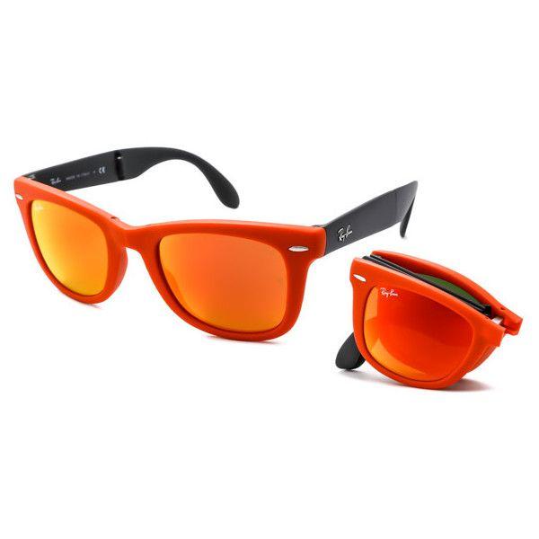 936ac9cf4da2c ... order ray ban rb4105 folding wayfarer flash lenses 6019 69 sunglasses  120 a3af7 7c4a5