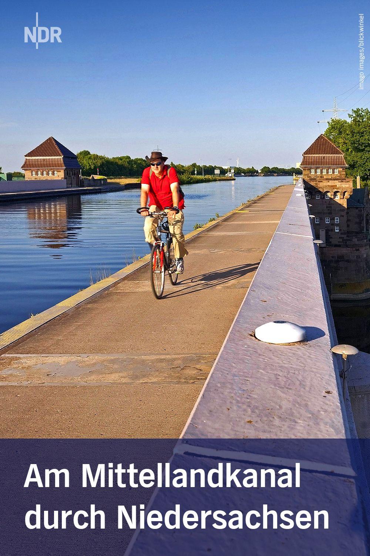Mit Dem Fahrrad Am Mittellandkanal Entlang Fahrradtour Radtouren Radtour