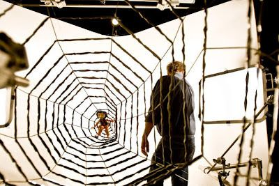Coraline The Tunnel Structure On Set Coraline Scary Films Coraline Jones