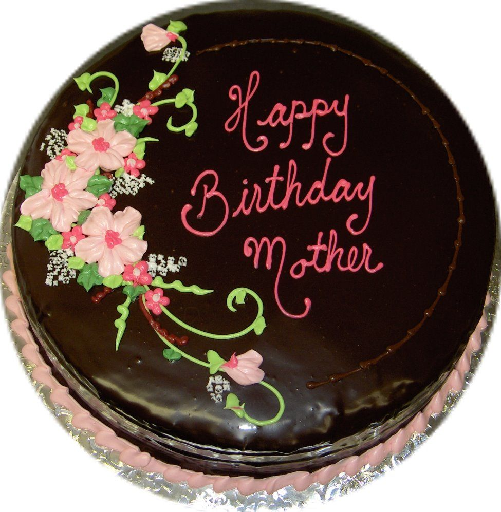 mother birthday cake Gateau FEMME Pinterest Mother ...