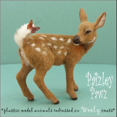 Handmade miniature Animals by Paizley Pawz