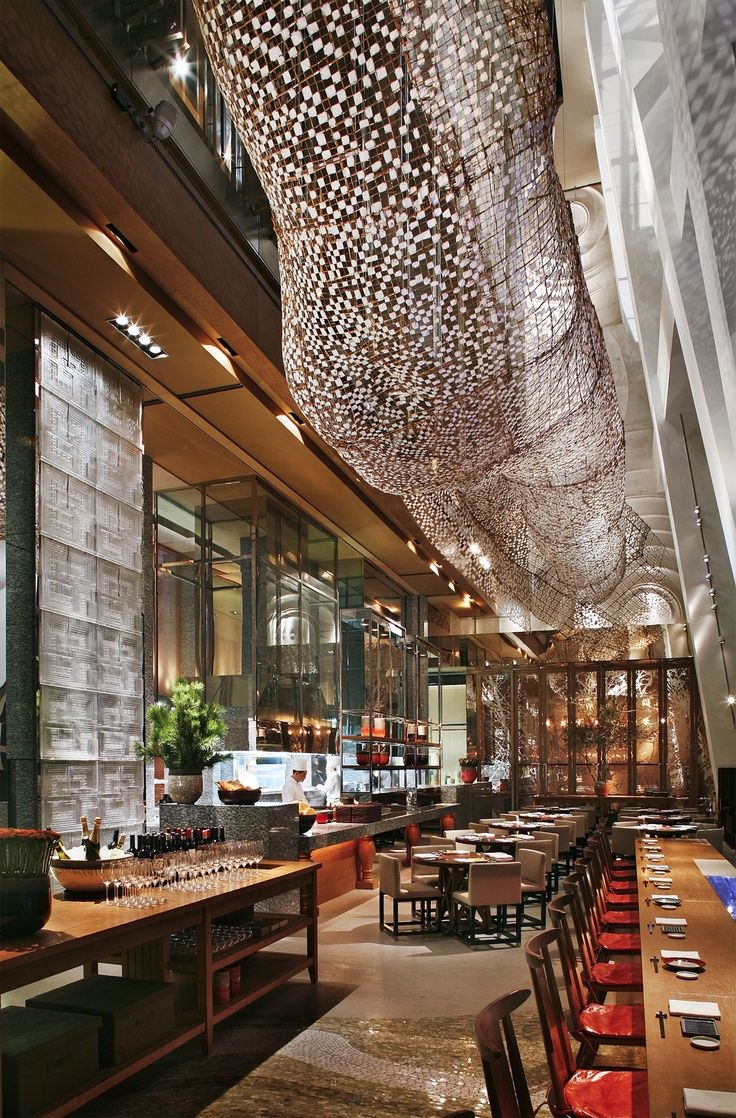 Park Hyatt, Shanghai #interior #design #restaurant #hyatt #interiordesign #style #decor #commercial #hospitality