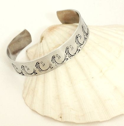 bracelet cod ocean beach pin local gallery designs the little designer wave cuff wish love cape by
