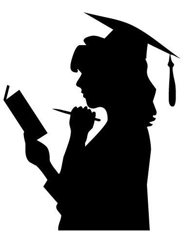 طلبہ کے لیے راہ نما ہدایات Graduation Silhouette Graduation Images Photo Album Scrapbooking