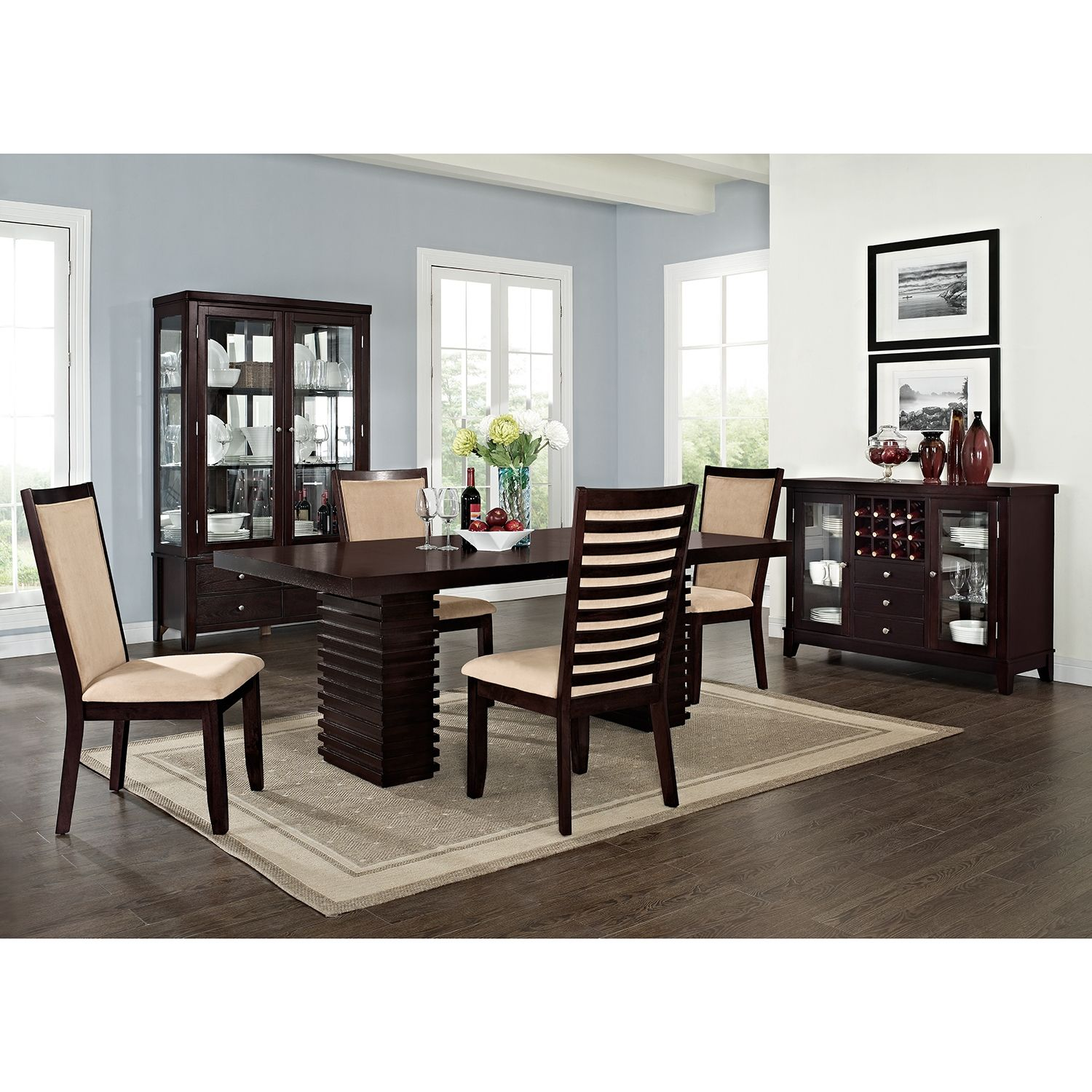 paragon dining room dining table - value city furniture 339.99