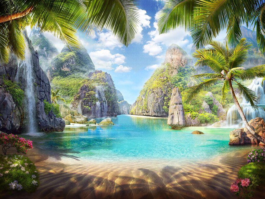 Blue Lagoon by Marina Grey