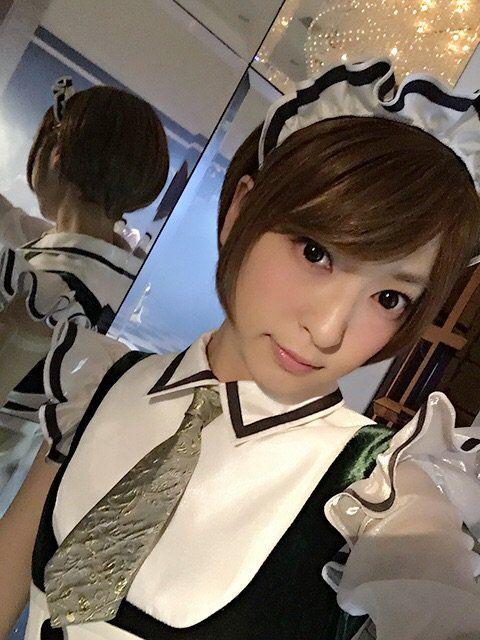 髪のアクセサリーが素敵な神田沙也加さん