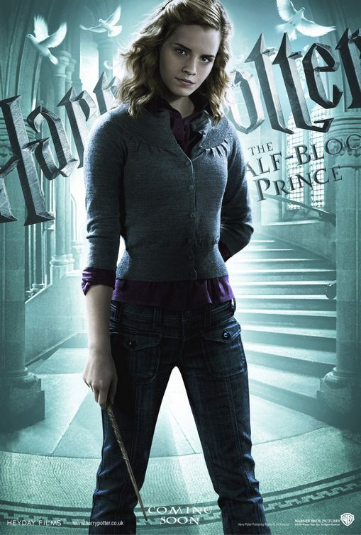 Harry Potter and the Half-Blood Prince: Hermione [Poster design by Crew Creative Advertising]