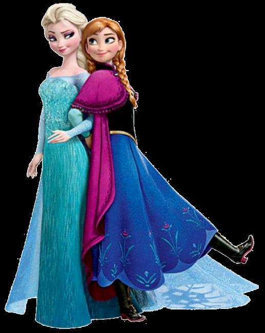 Frozen Imágenes De Ana Y Elsa Clip Art Cumpleaños