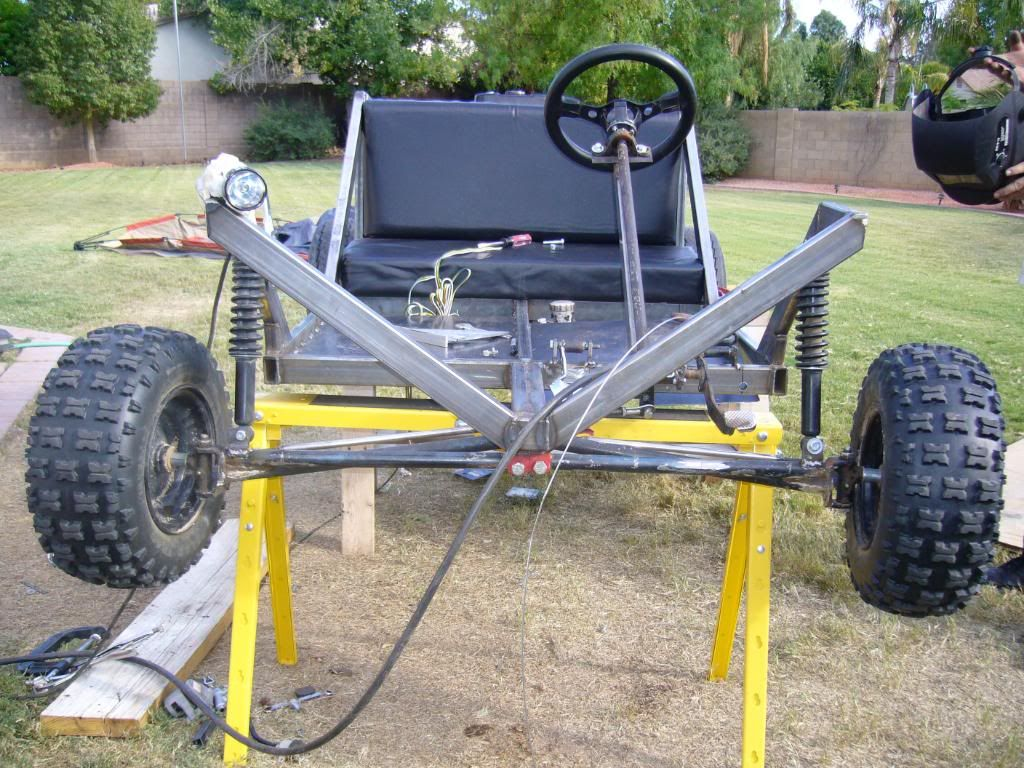 DIY Go Kart Cart Home Made Welded Picture By Diywp