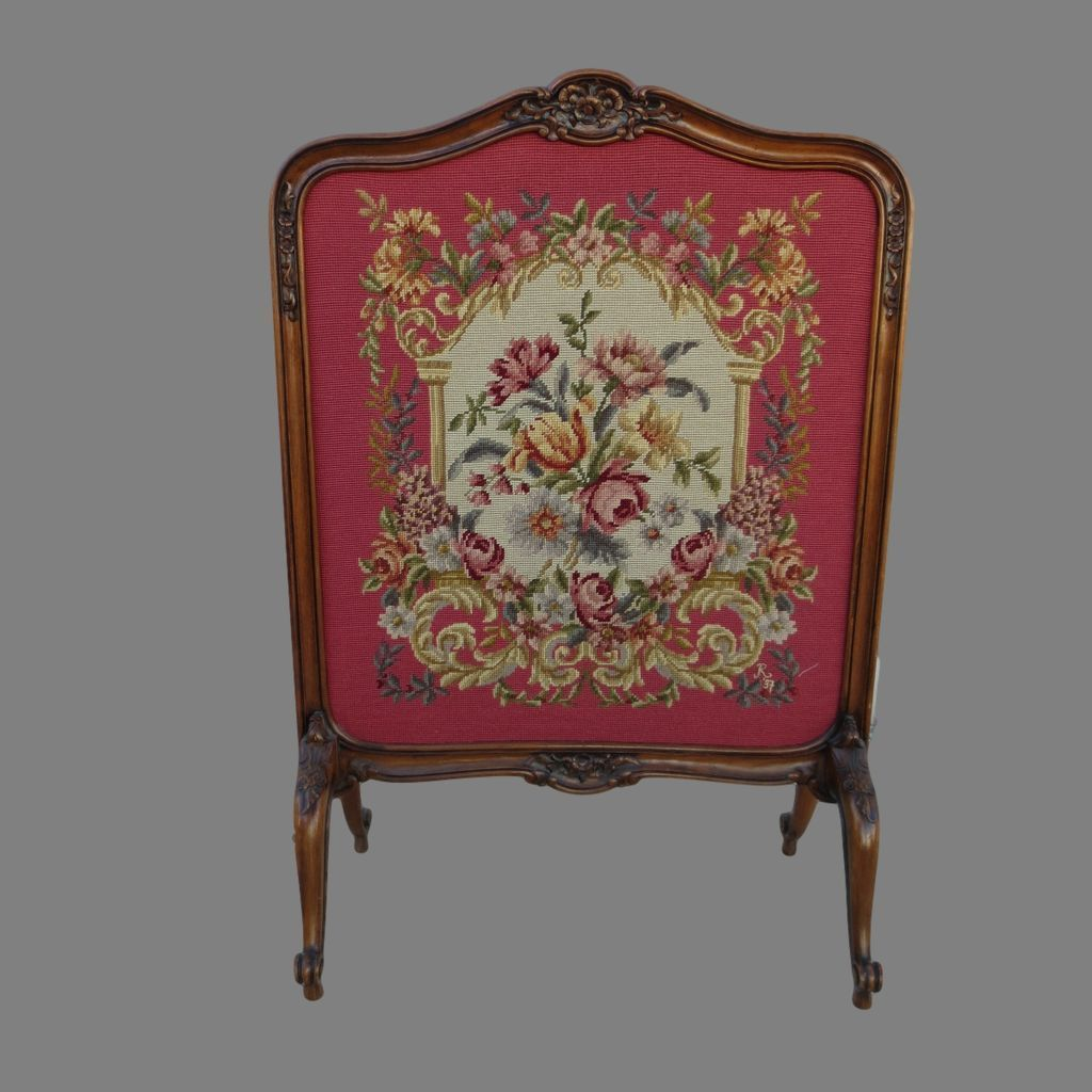 french fireplace screens. Antique Fireplace Screen French Tapestry From  Mrbeasleys On Ruby Lane