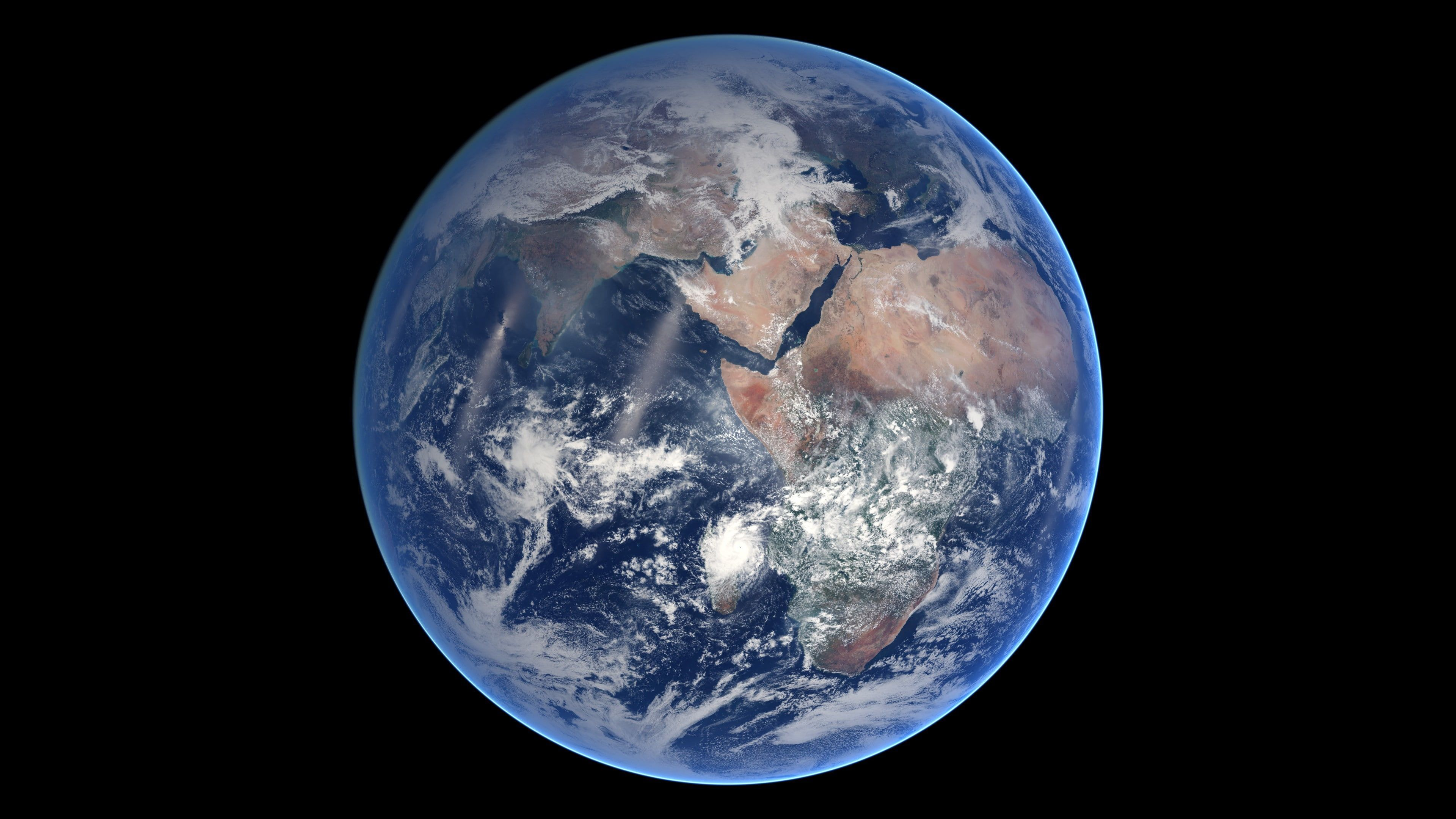 Earth Space Planet Blue Marble Nasa 4k Wallpaper Hdwallpaper Desktop Earth From Space Nasa Earth Planets