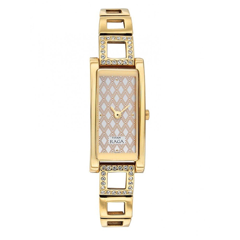 c959070da1f Buy Titan Raga Analogue White Dial Wrist Unisex Watch - 9720YM02 Online at  Low Prices in India - Amazon.in