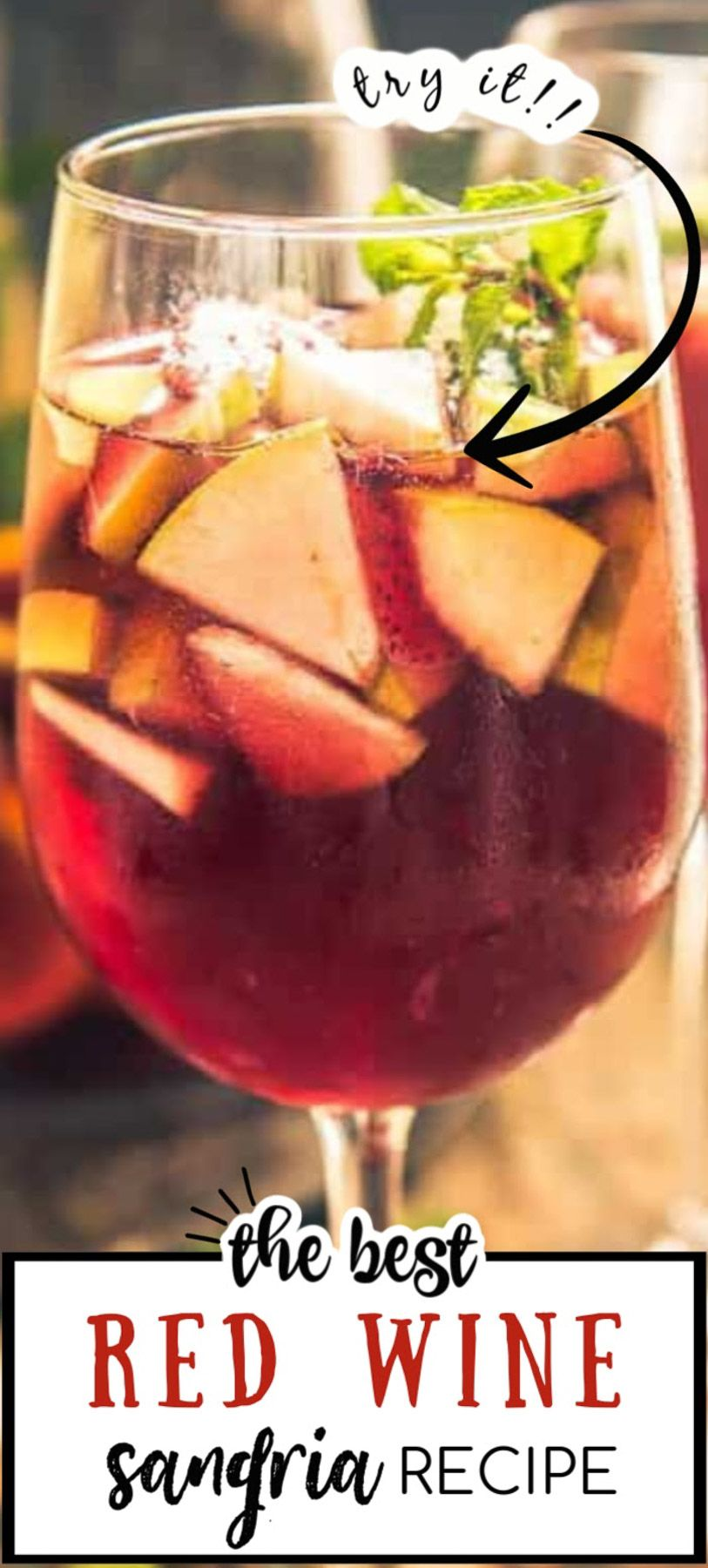 Red Wine Sangria Is A Traditional Drink From Spain Where Red Wine Is Mixed With Fruits Brandy And Soda T In 2020 Red Sangria Recipes Sangria Recipes Red Wine Sangria