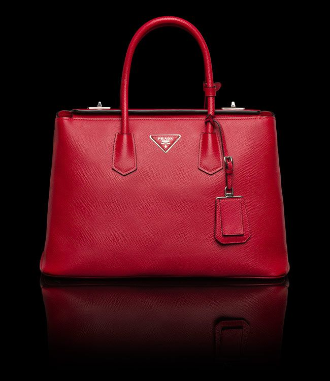 Red Prada Bag