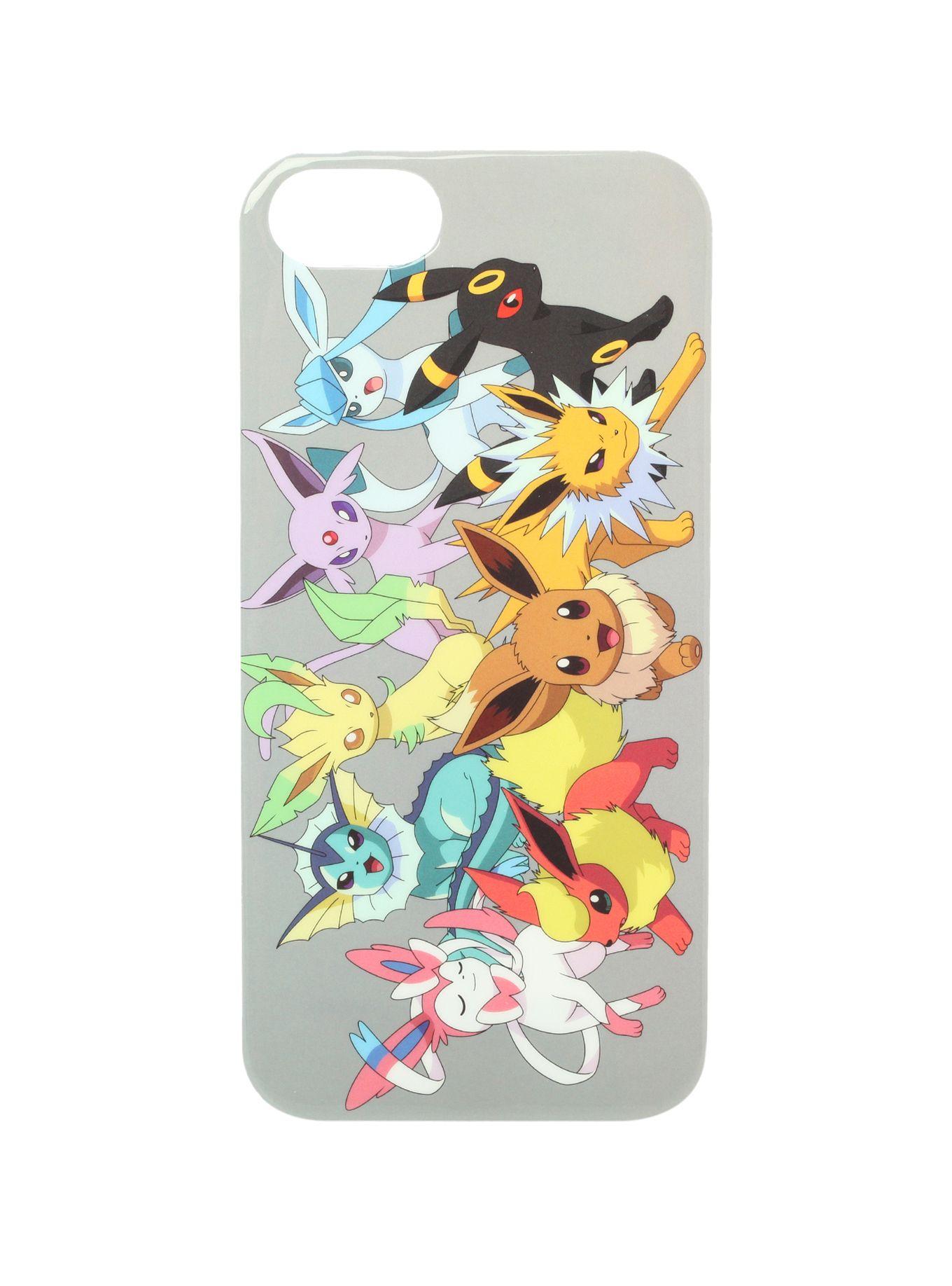 best website 1f3d7 fdba2 Pokemon Eevee Evolutions iPhone 5/5S Case | Hot Topic | Gift ideas ...