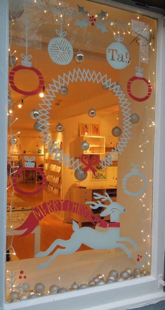 Christmas Window Decoration Ideas Christmas Christmas