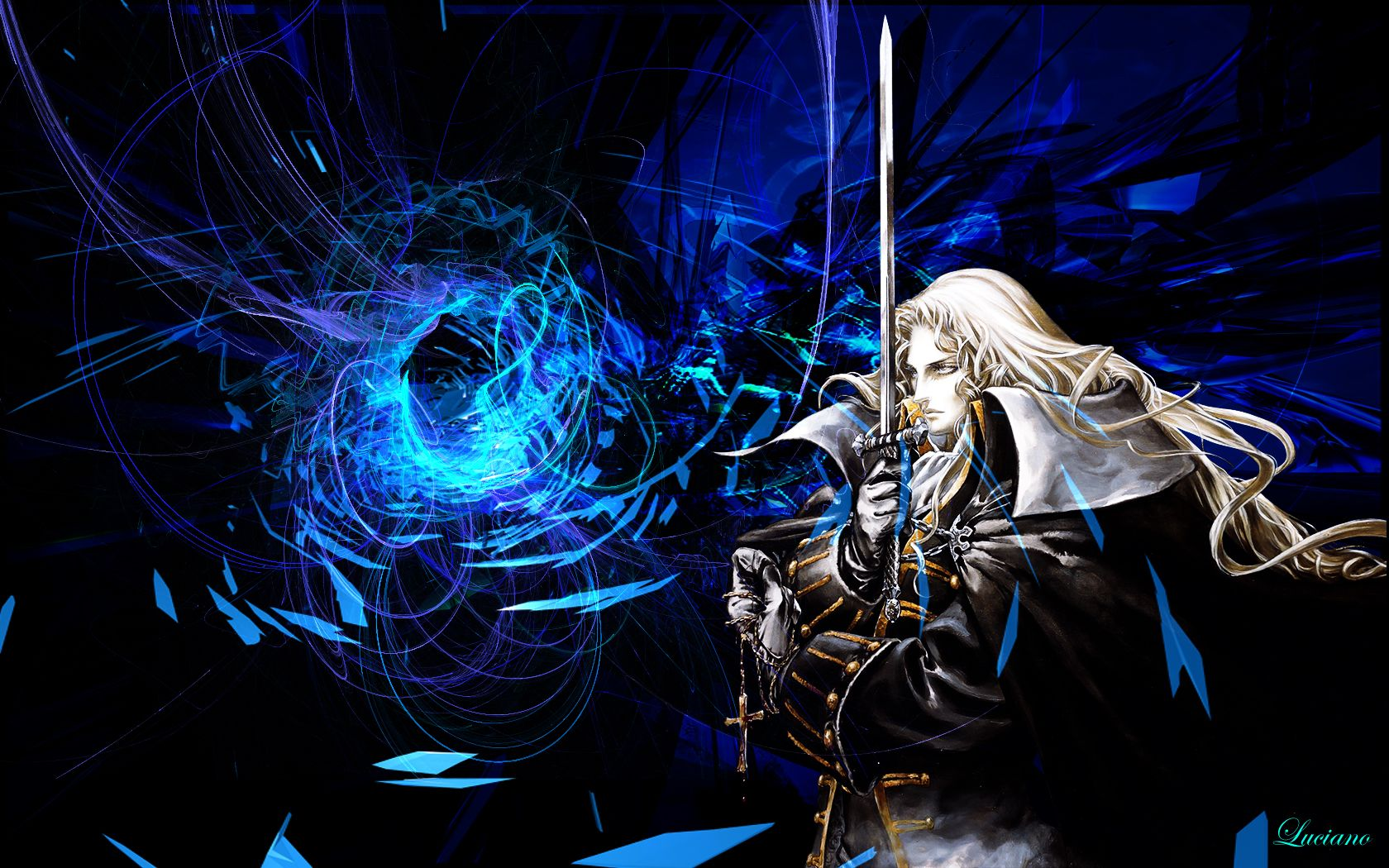 Castlevania Symphony Of The Night Wallpaper Alucard Video Game Art