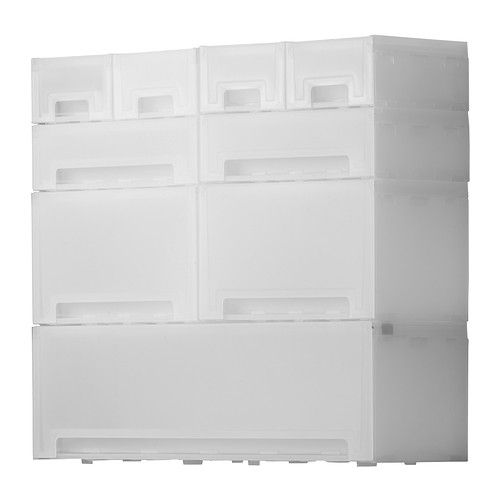 Kupol Modular Pull Out Storage Units. Optional To Add Wheels. Made From  Polypropylene
