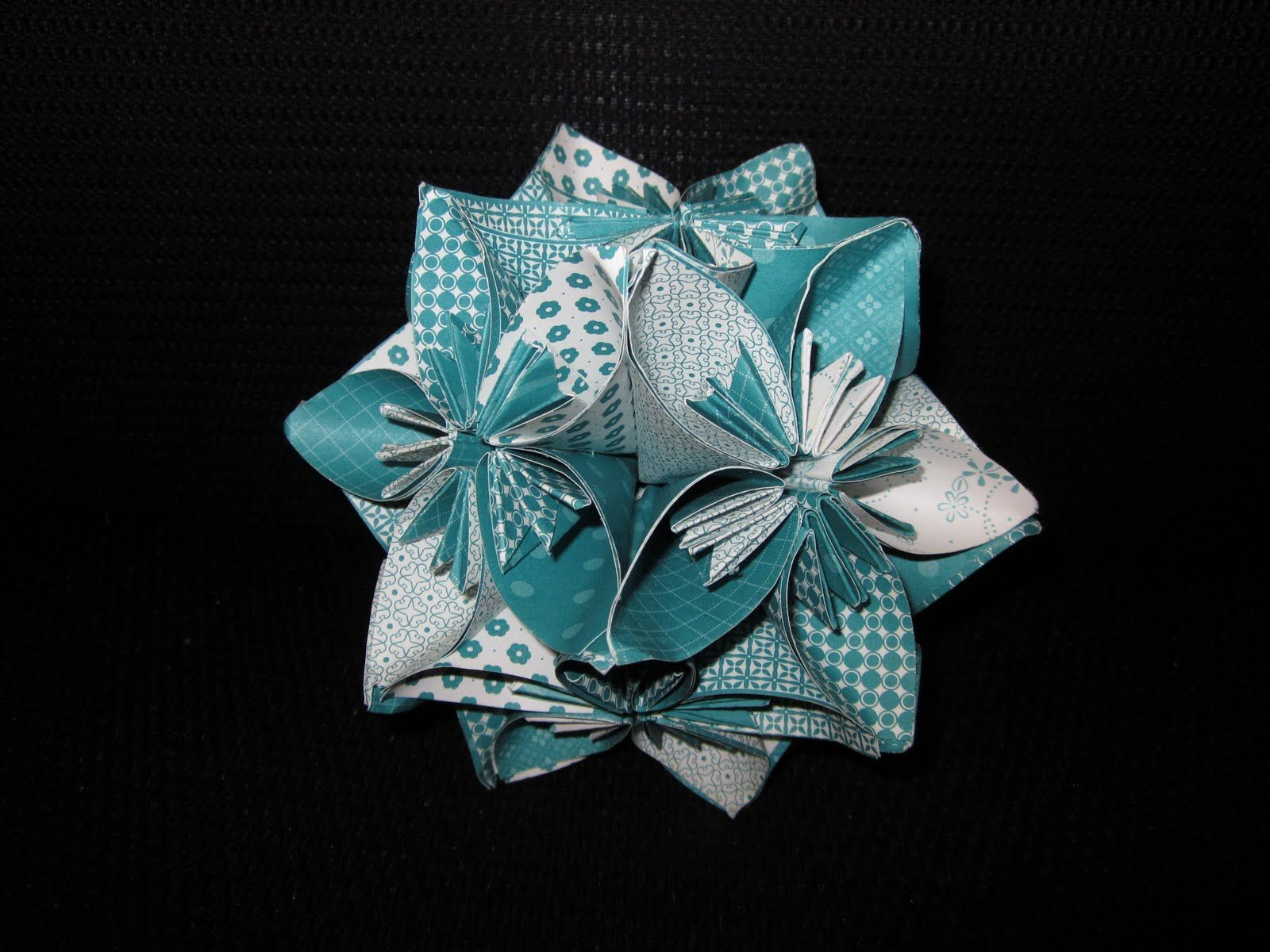 Kusudama Flower Balls For Pew Decorations But In My Colors Of