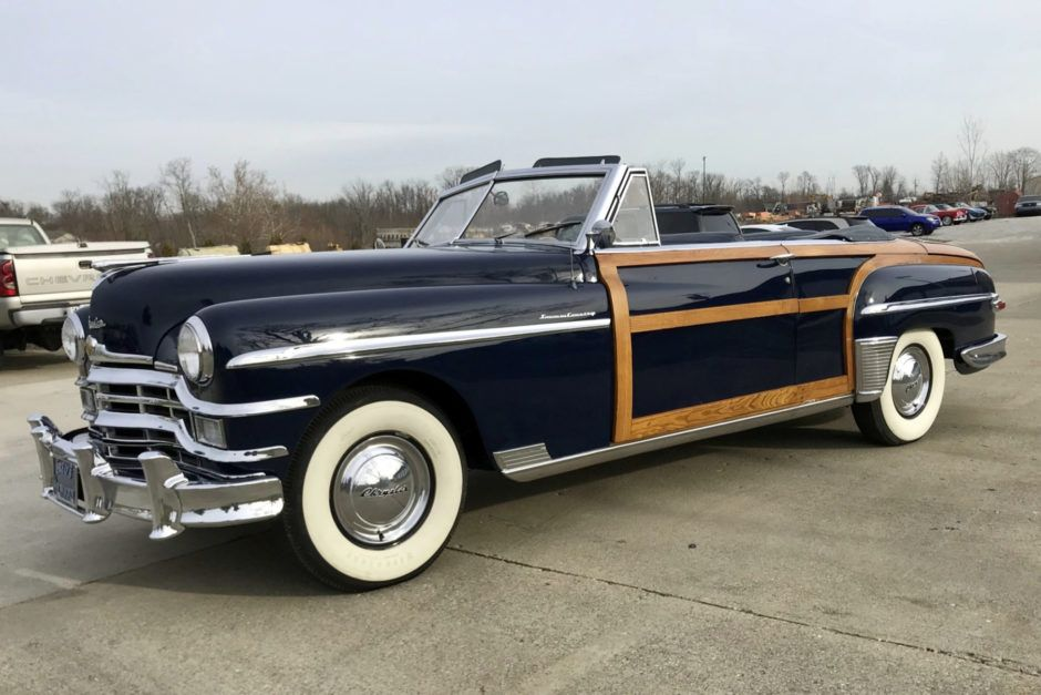 32yearsowned 1949 chrysler town country chrysler