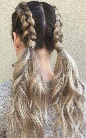 25 Trending Women Summer Braid Hairstyles 2019