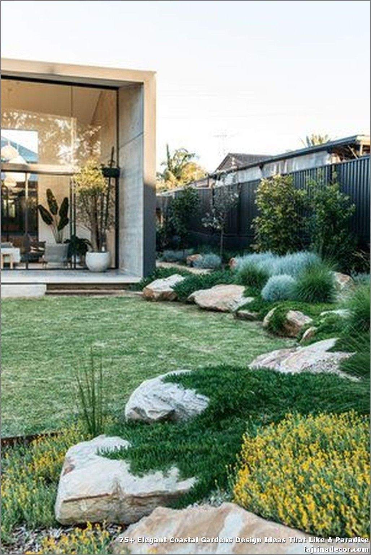 9+ Elegant Coastal Gardens Design Ideas That Like A Paradise in