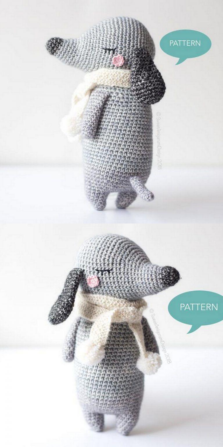 Tommy the Dog crochet pattern | Crochet dog patterns, Crochet ... | 1536x768