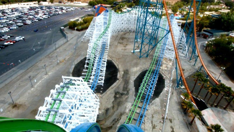 The Six Flags Magic Mountain Sfmm Discussion Thread Page 4354 Roller Coaster Six Flags Fun Slide