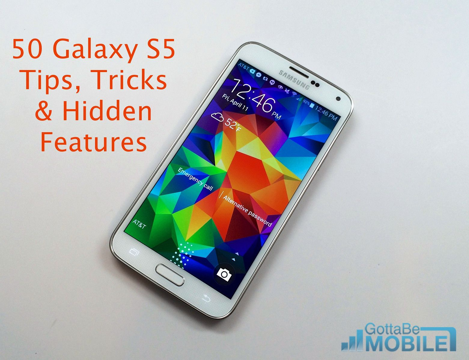 50 Galaxy S5 Tips, Tricks and Hidden Features Galaxy