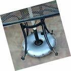 Portable Round Umbrella Base Weights  Three Pack #Garden #outdoorumbrellastand