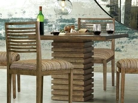 Dining Room Tables On Sale Art Furniture Epicenters Reclaimed Pallet Wide Square Pedestal Table