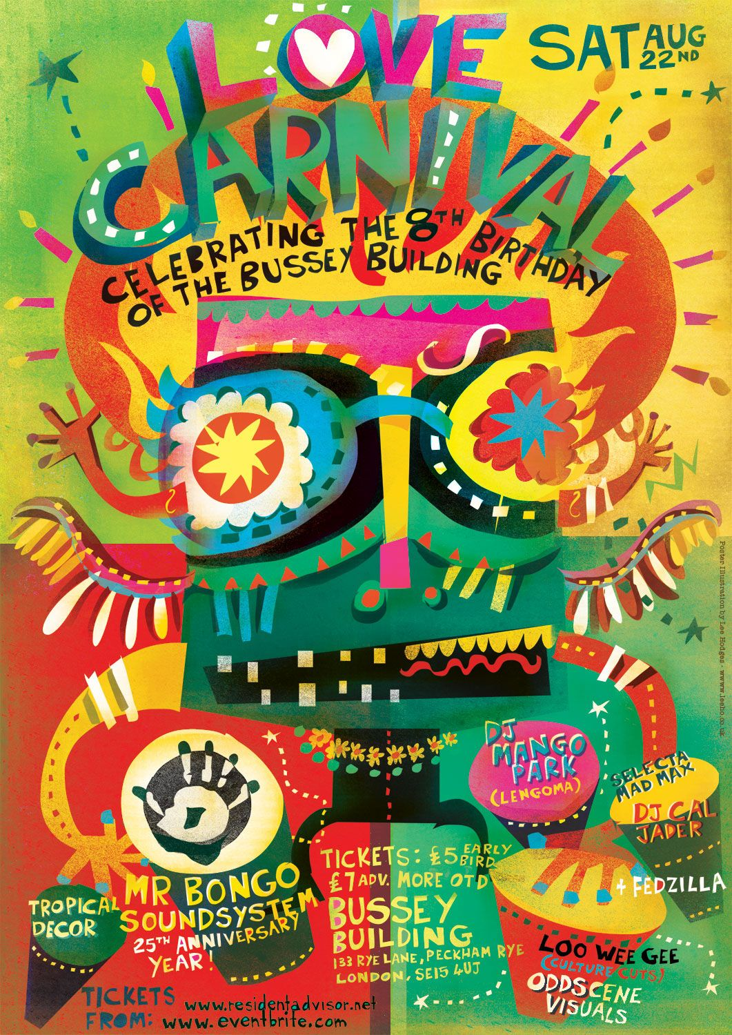 Love Carnival Posters on Behance in 2020 (With images ...