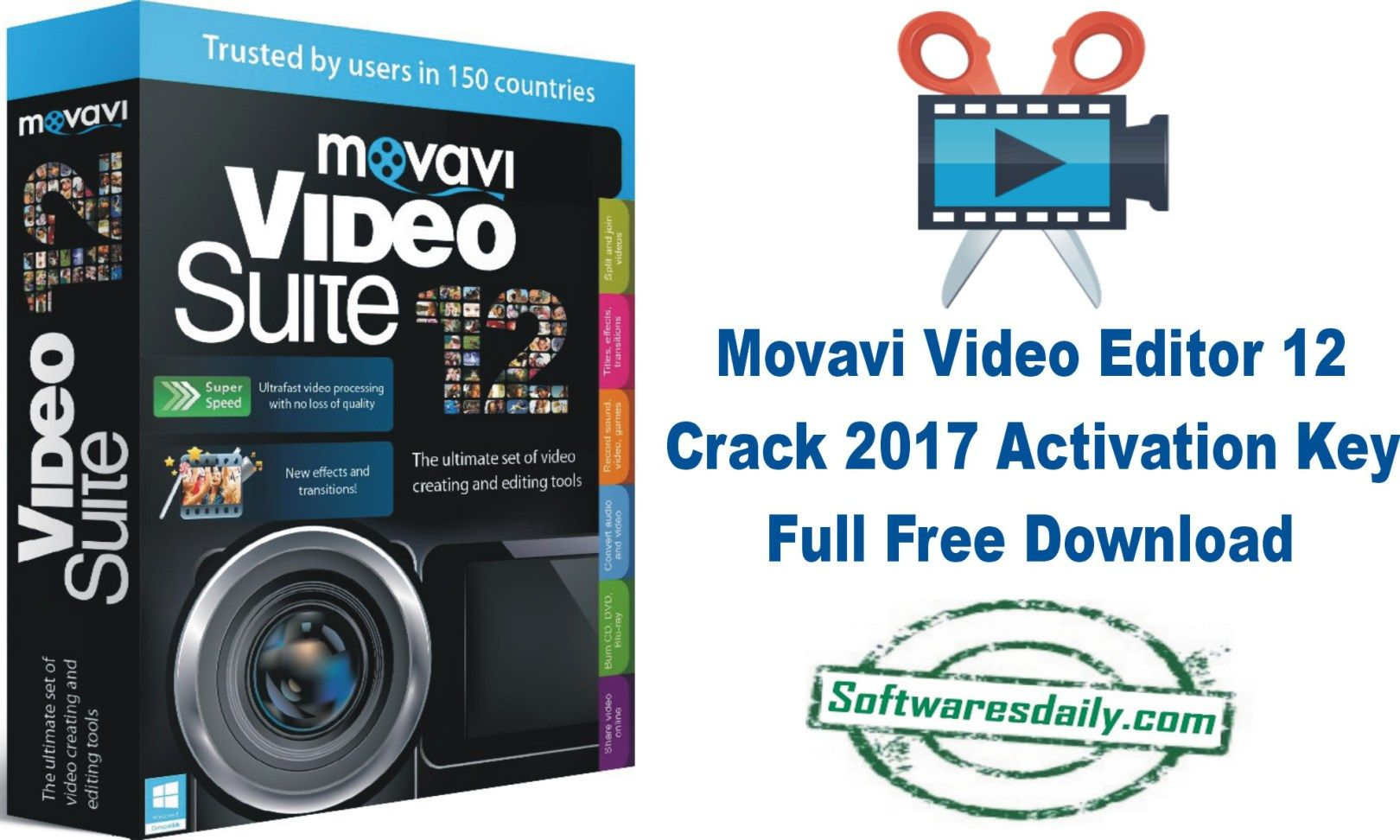 download activation key movavi video editor 12