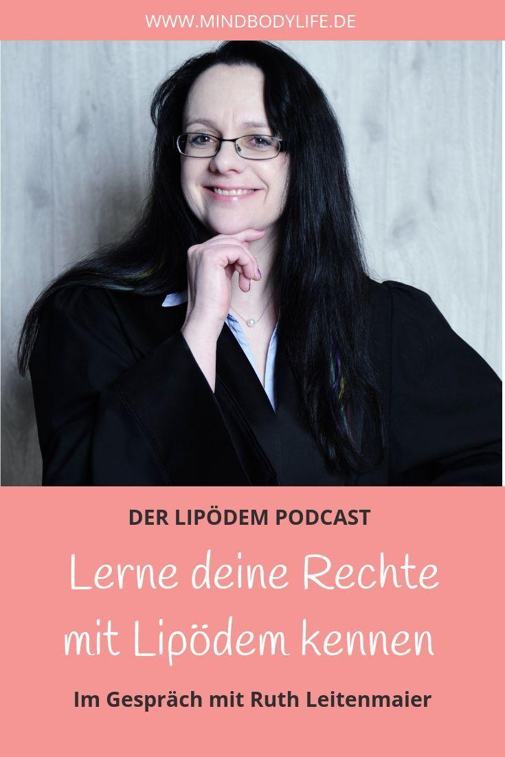 Im Gespräch mit Ruth Leitenmaier zu Rechtsfragen rund um das Lipödem